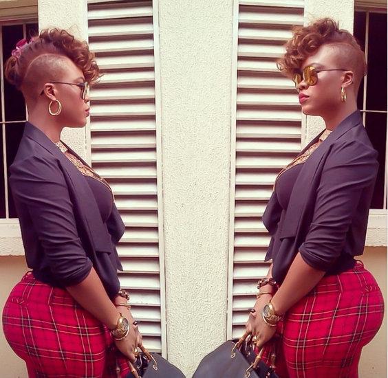 Daniella Okeke Debunks Butt Surgery My Big Chocolate Ass -5795